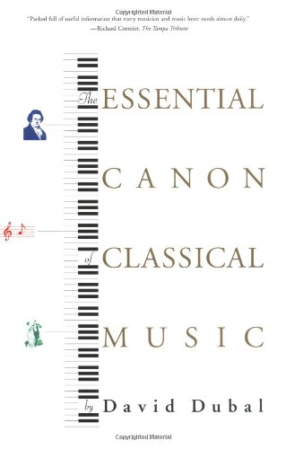 Essential Canon of Classical Music   2001 edition cover