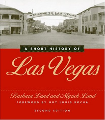 Short History of Las Vegas  2nd 2004 edition cover