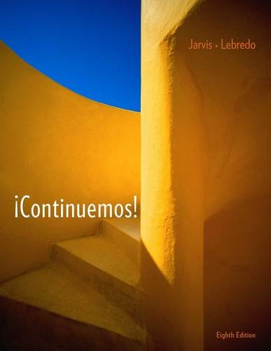 �Continuemos!  8th 2013 9781111831646 Front Cover