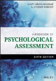 Handbook of Psychological Assessment  6th 2016 9781118960646 Front Cover