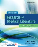Introduction to Research and Medical Literature for Health Professionals  4th 2016 edition cover