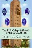 Black College Sabbatical - SPRING QUARTER  N/A 9781493560646 Front Cover