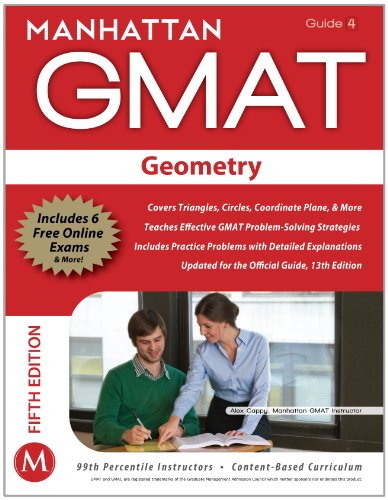 Geometry GMAT Strategy Guide  5th (Revised) 9781935707646 Front Cover