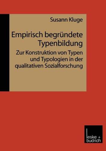 Empirisch Begr�ndete Typenglishbildung   1999 9783810022646 Front Cover