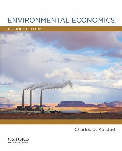 Environmental Economics  2nd 2010 edition cover