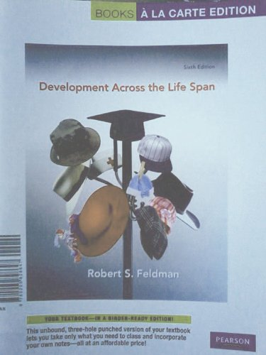 Development Across the Life Span  6th 2011 edition cover