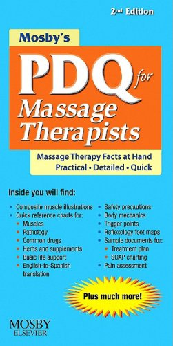 PDQ for Massage Therapists  2nd edition cover