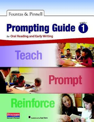 Prompting Guide For Oral Reading and Early Writing  2012 (Revised) edition cover
