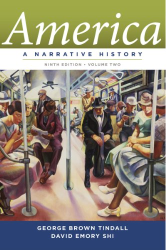 America A Narrative History 9th 2013 9780393912647 Front Cover