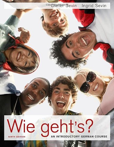 Wie Geht's?  9th 2011 edition cover