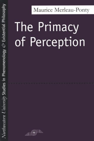 Primacy of Perception   1964 edition cover