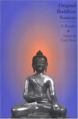 Original Buddhist Sources A Reader  2005 edition cover