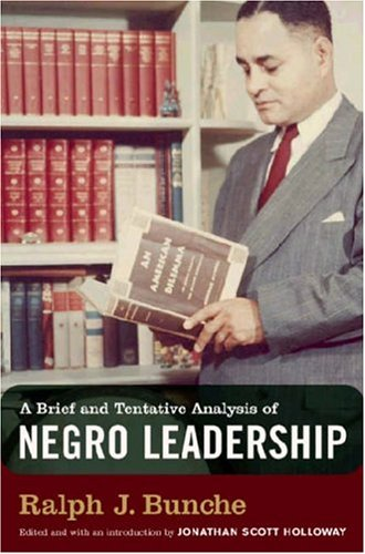 Brief and Tentative Analysis of Negro Leadership   2004 edition cover