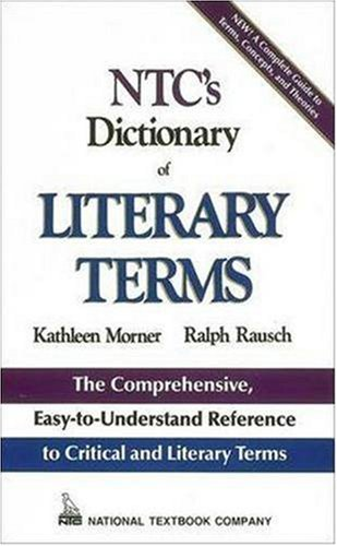 NTC's Dictionary of Literary Terms   1991 edition cover