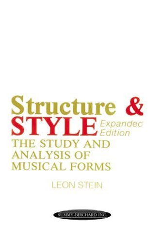 Anthology of Musical Forms -- Structure and Style The Study and Analysis of Musical Forms  1995 edition cover