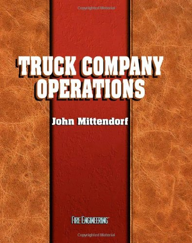Truck Company Operations   1998 edition cover