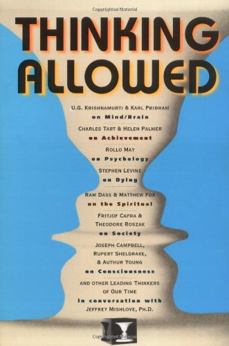 Thinking Allowed Conversations on the Leading Edge of Knowledge  1992 edition cover