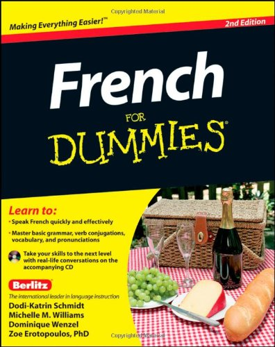 French for Dummies�  2nd 2011 edition cover