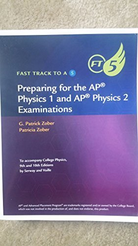 COLLEGE PHYSICS-FAST TRACK TO  N/A edition cover