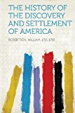 History of the Discovery and Settlement of America  N/A edition cover