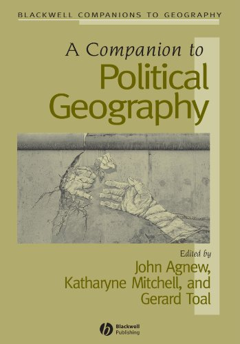 Companion to Political Geography   2007 edition cover