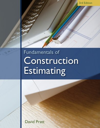Fundamentals of Construction Estimating  3rd 2011 edition cover