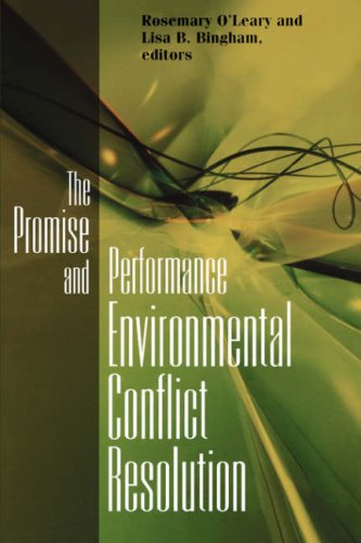 Promise and Performance of Environmental Conflict Resolution   2003 edition cover