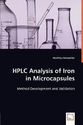 Hplc Analysis of Iron in Microcapsules  N/A 9783836498647 Front Cover