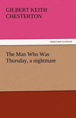 Man Who Was Thursday, a Nightmare  N/A 9783842440647 Front Cover