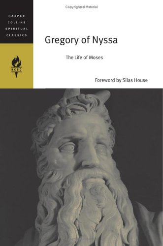 Gregory of Nyssa The Life of Moses  2006 edition cover