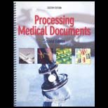 PROCESSING MEDICAL DOC.-W/CD >CUSTOM< N/A 9780077316648 Front Cover