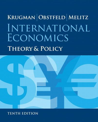 International Economics: Theory and Policy  2014 9780133423648 Front Cover