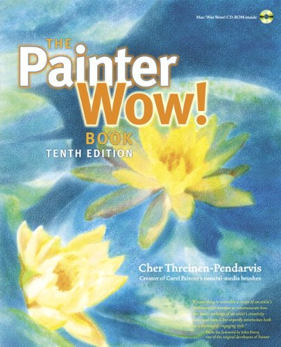 Painter Wow! Book  10th 2012 (Revised) edition cover