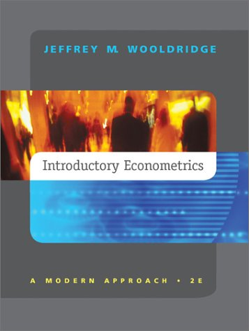 Introductory Econometrics  2nd 2003 edition cover