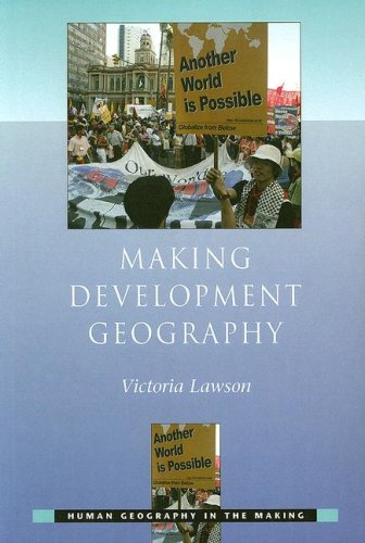 Making Development Geography   2007 edition cover