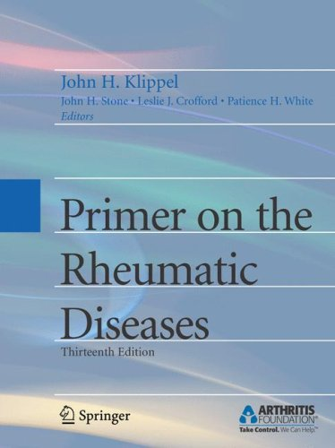 Primer on the Rheumatic Diseases  13th 2008 (Revised) edition cover