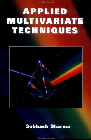 Applied Multivariate Techniques  1st 1996 edition cover