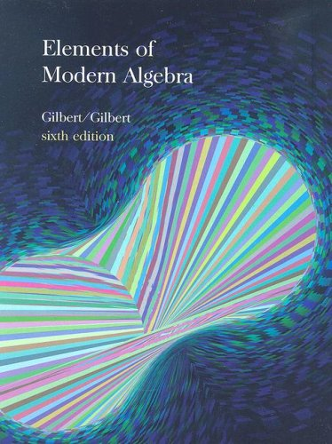 Elements of Modern Algebra  6th 2005 (Revised) edition cover