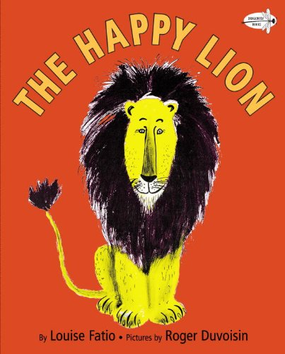 Happy Lion  N/A 9780553113648 Front Cover