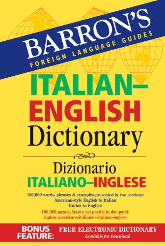 Italian-English Dictionary Dizionario Italiano-Inglese  2007 edition cover