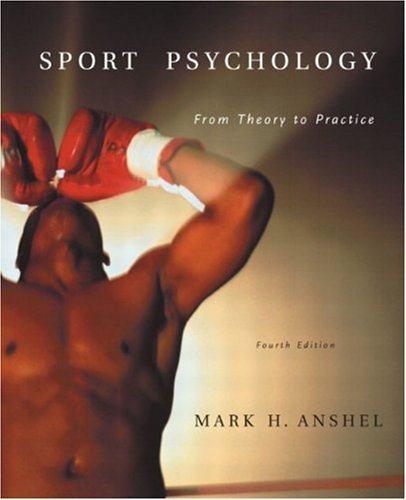 Sport Psychology From Theory to Practice 4th 2003 edition cover