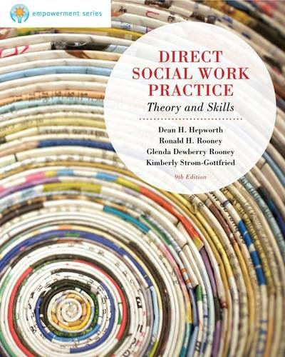 Brooks/Cole Empowerment Series: Direct Social Work Practice  9th 2013 edition cover
