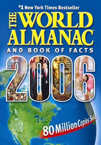 World Almanac and Book of Facts  N/A 9780886879648 Front Cover