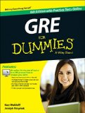 GRE for Dummies  8th 2015 edition cover