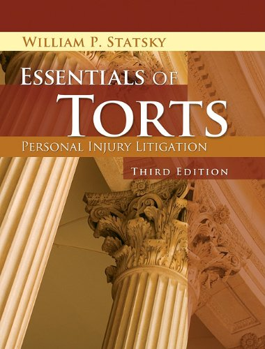Essentials of Torts  3rd 2012 edition cover
