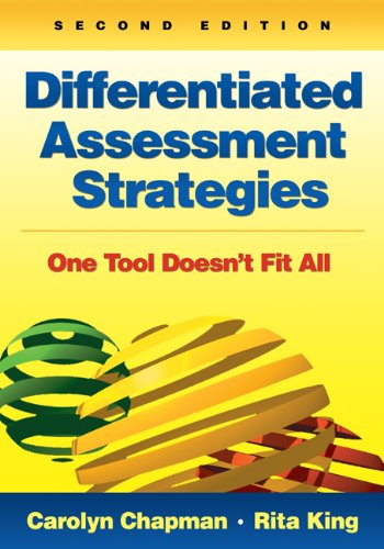 Differentiated Assessment Strategies One Tool Doesn't Fit All 2nd 2012 edition cover
