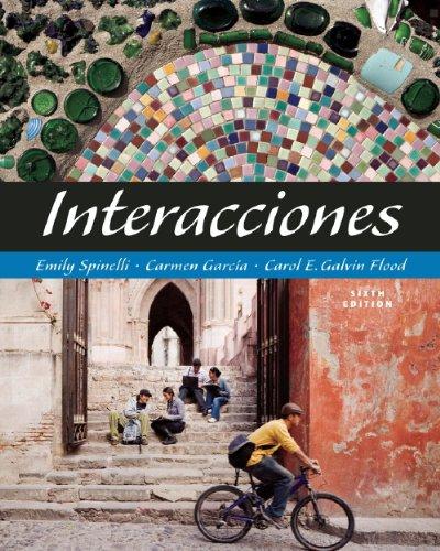 Interacciones  6th 2009 edition cover