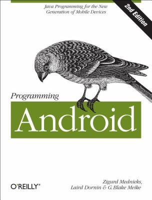 Programming Android Java Programming for the New Generation of Mobile Devices 2nd 2012 edition cover