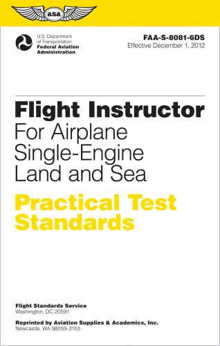Flight Instructor for Airplane, Single-Engine Land and Sea  N/A edition cover