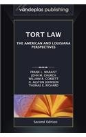 Tort Law The American and Louisiana Perspectives, Second Edition 2012  2012 edition cover